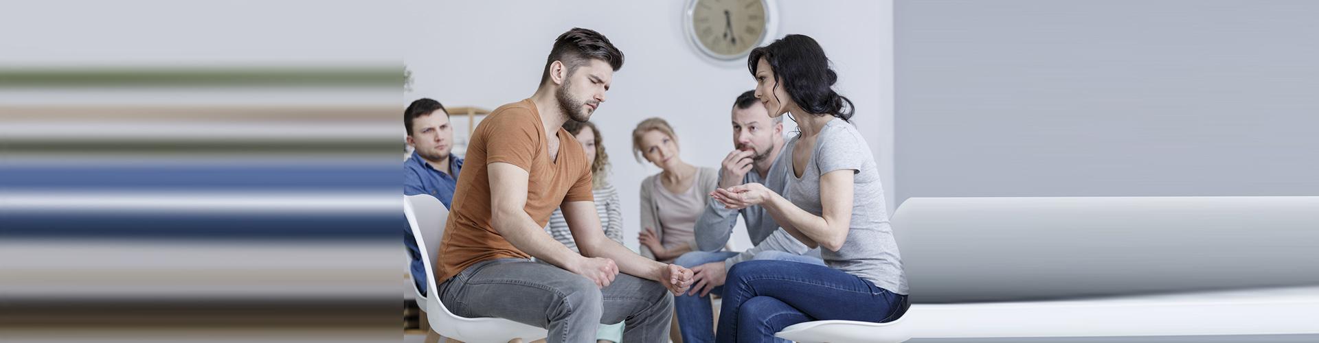 six people sitting
